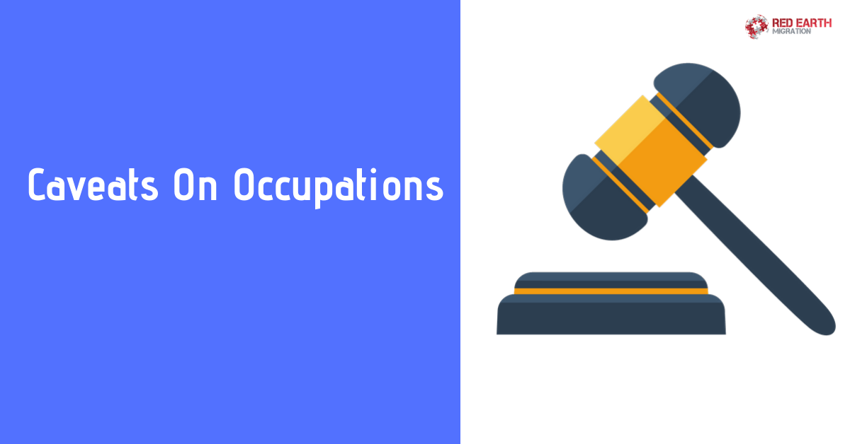 Caveats On Occupations
